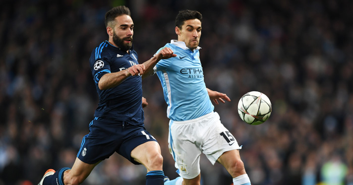 Deadlock: Neither side could find a goal at The Etihad