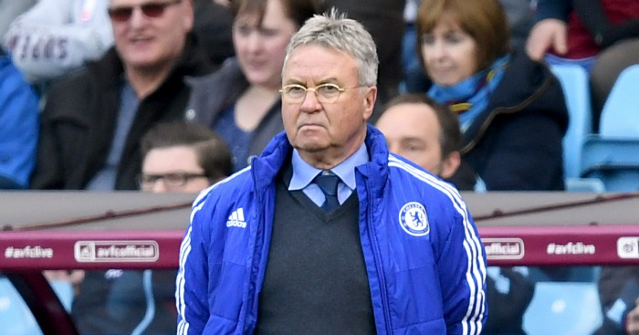 Guus Hiddink: Says pressure will be on Antonio Conte