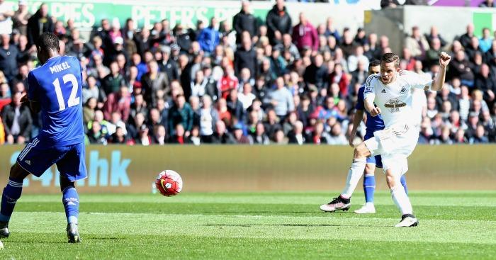 Gylfi Sigurdsson goal Swansea City Chelsea