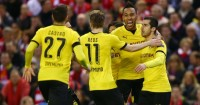 Henrikh Mkhitaryan & Pierre-Emerick Aubameyang: Linked with moves