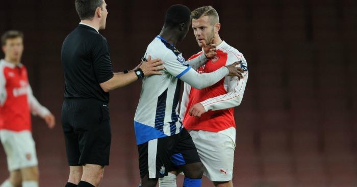 Jack Wilshere: Midfielder clashed with Henri Saivet