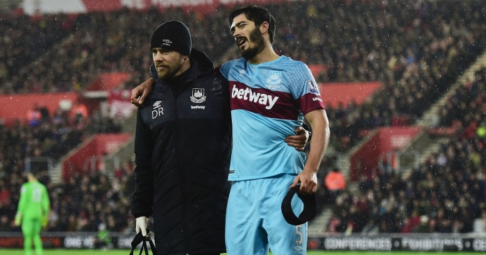 James Tomkins: West Ham defender available to face Crystal Palace
