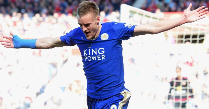 Jamie Vardy: Expected to play for Leicester City at Chelsea