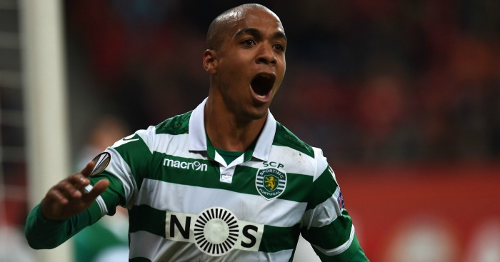 Joao Mario: Watched by United.