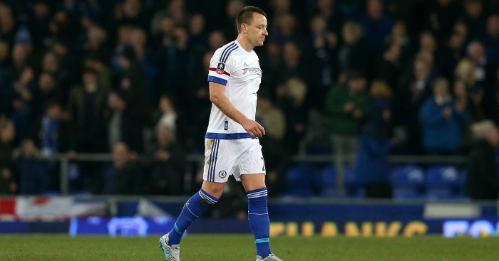 John Terry: Defender out of contract in the summer