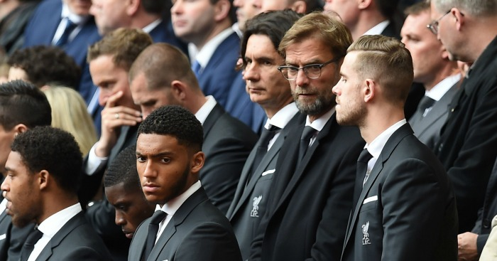 Jurgen Klopp and Jordan Henderson: Stand together at Hillsborough memorial