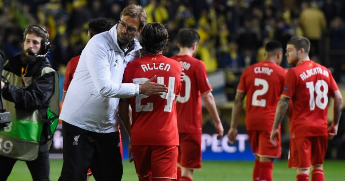Jurgen Klopp: Not too disheartened by defeat
