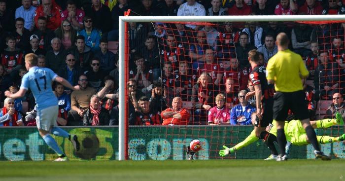 Kevin De Bruyne scores Manchester City