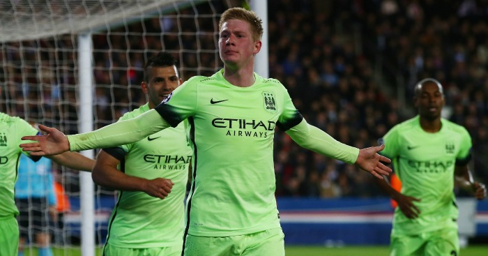 Kevin de Bruyne: Forward netted City's opener