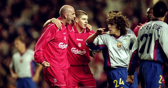 Liverpool Barcelona 2001