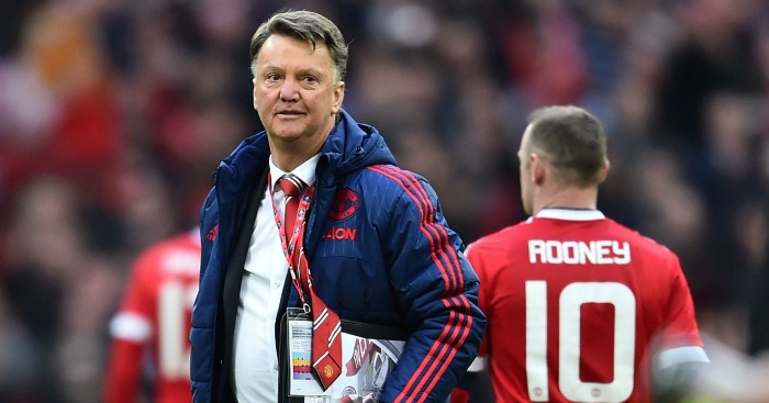 Louis van Gaal: In the FA Cup final
