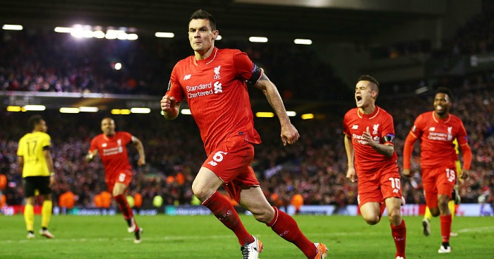 Dejan Lovren: Scored stoppage-time winner for Liverpool