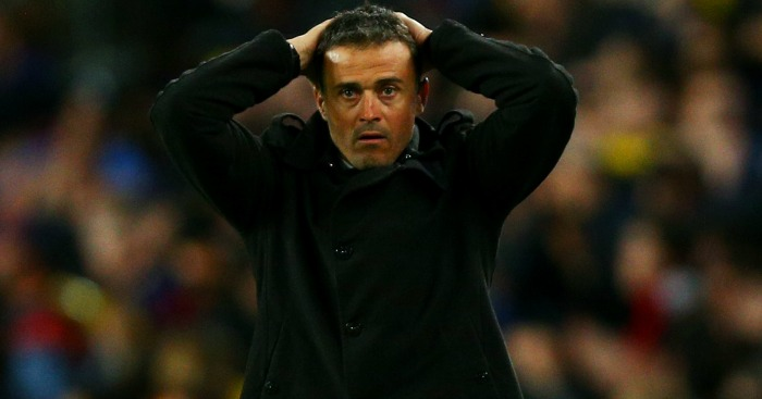 Luis Enrique: Barcelona side are struggling