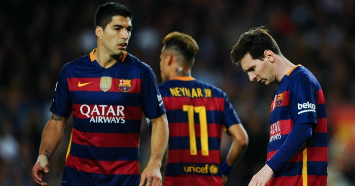 Luis Suarez, Neymar & Lionel Messi: Talked-up by Coutinho