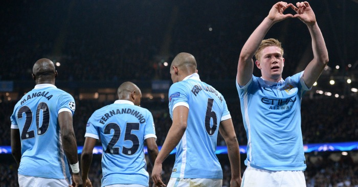 Man City de bruyne