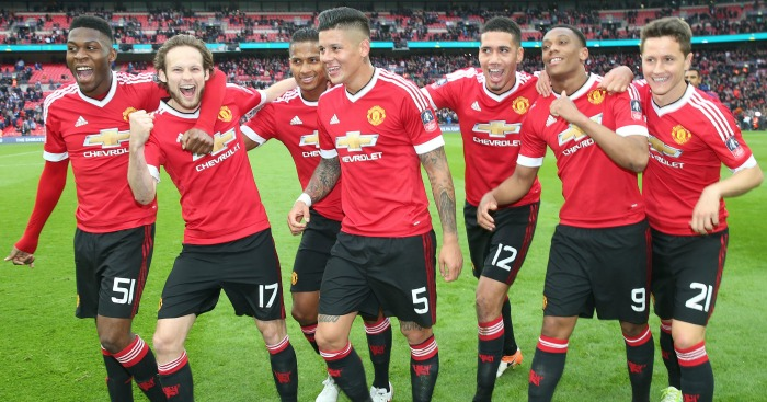 Man Utd: Celebrate the semi-final win over Everton