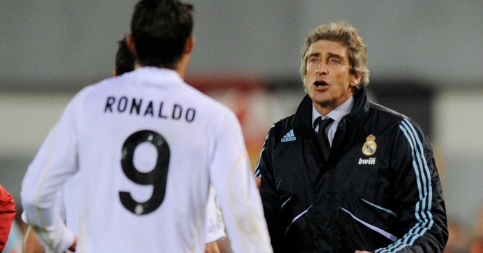 Manuel Pellegrini Real Madrid