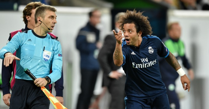 Marcelo: Dive against Wolfsburg 'embarrassing' according to Glenn Hoddle