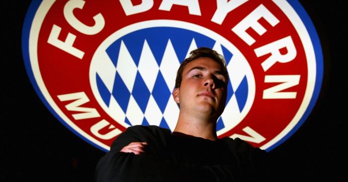 Mario Gotze: Told to focus on Bayern