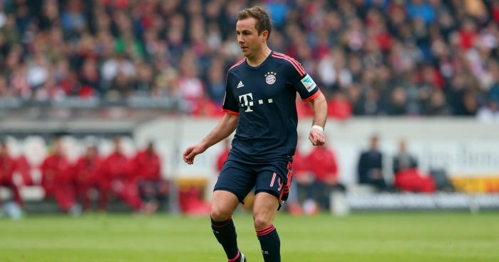Mario Gotze: Future will be discussed in May