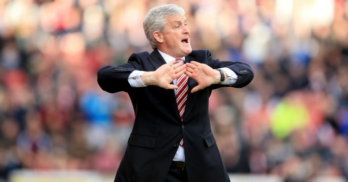 Mark Hughes: Says managers were given guidelines on grappling