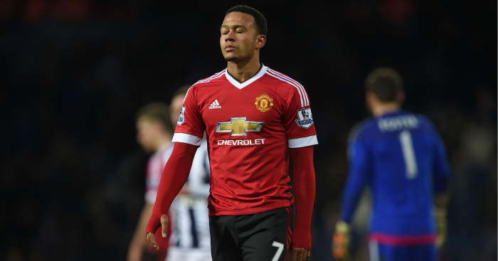 Memphis Depay: Winger has struggled at Man Utd