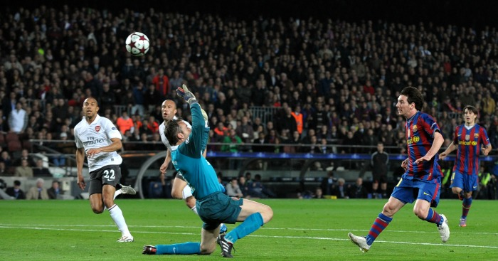 Messi goal Arsenal