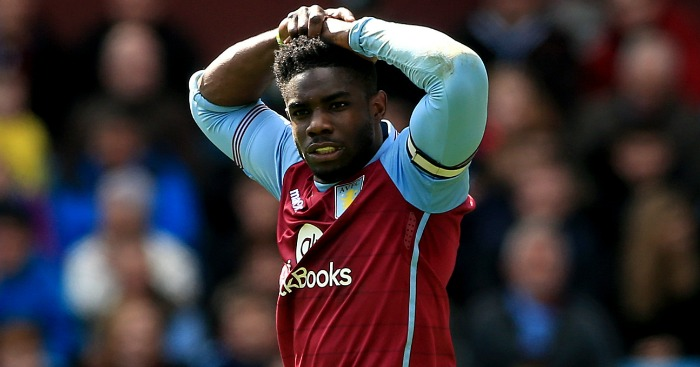 Micah Richards Aston Villa