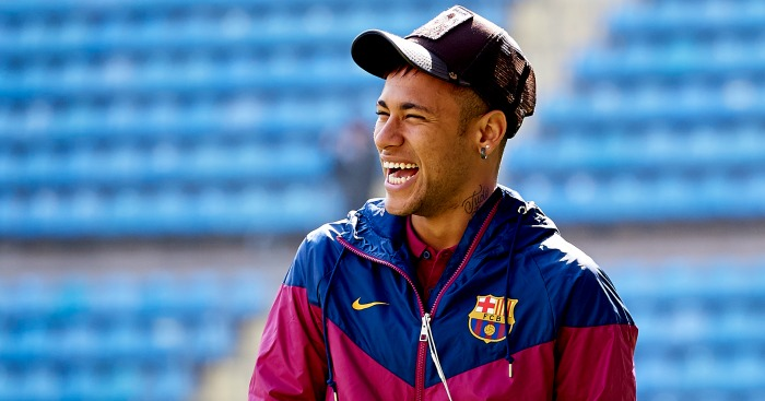 Neymar: Linked with summer switch to Man Utd