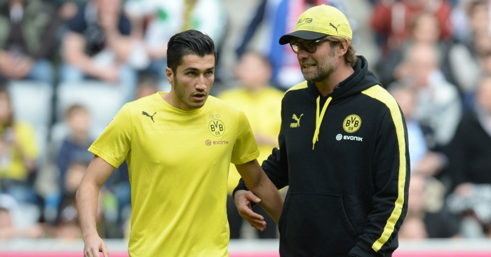 Nuri Sahin: Wanted back at Liverpool