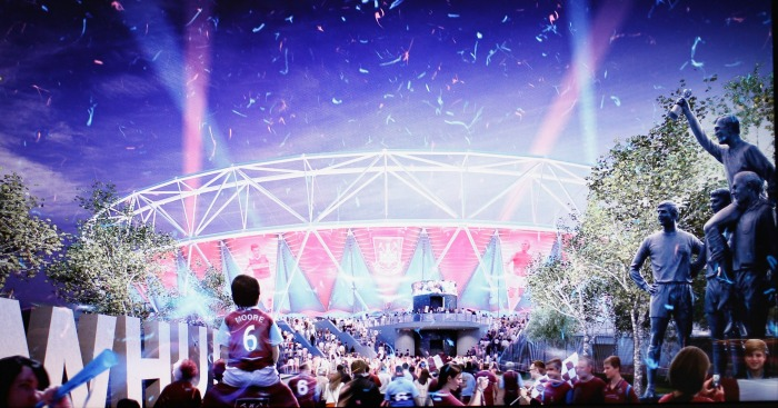 Olympic stadium: West Ham's home from next season