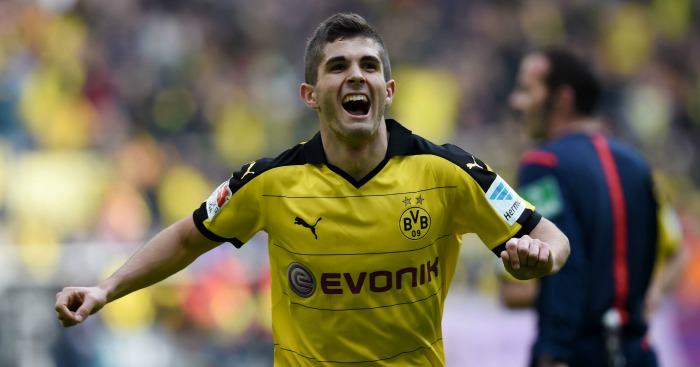 Christian Pulisic: Happy at Dortmund