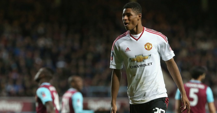 Marcus Rashford: Here to stay, says Carrick