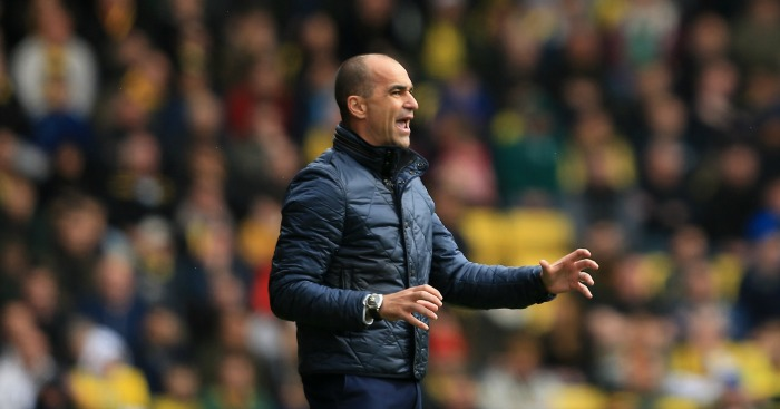 Roberto Martinez: Saw many good individual performances