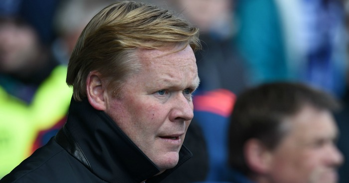 Ronald Koeman: Heading for Everton