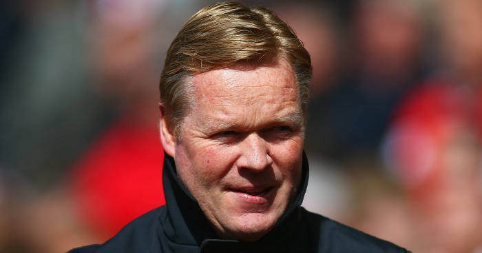 Ronald Koeman: Eyeing a place in next season's Europa League.
