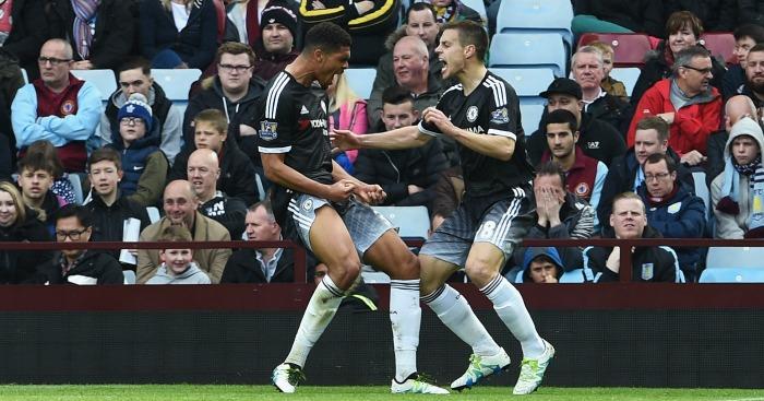 Rueben Loftus-Cheek celebrates Chelsea