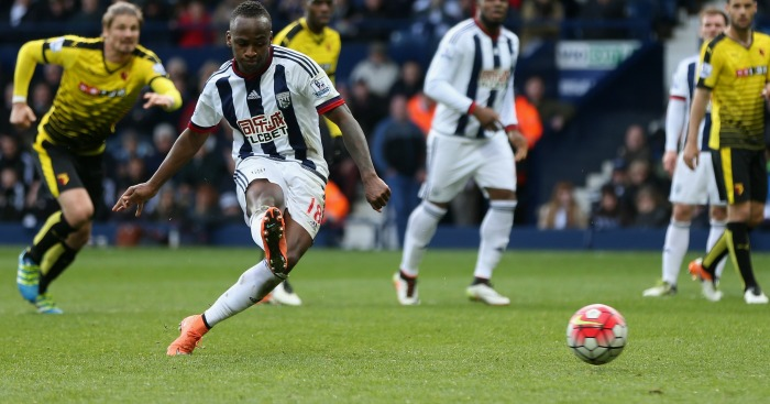 Saido Berahino: Missed twice from the spot against Watford