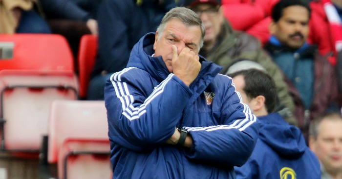 Sam Allardyce: Urged Sunderland not to lose the plot like Tottenham