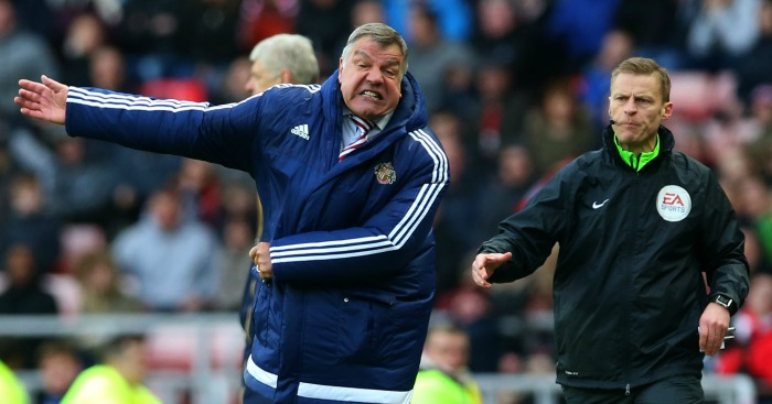 Sam Allardyce: Felt Sunderland should have had penalty against Arsenal