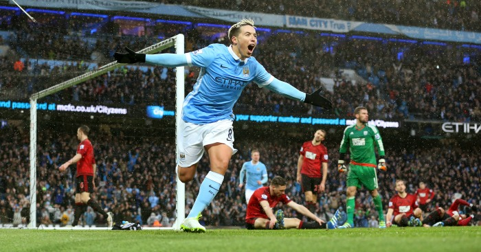 Samir Nasri: Scored Manchester City's winner against West Brom