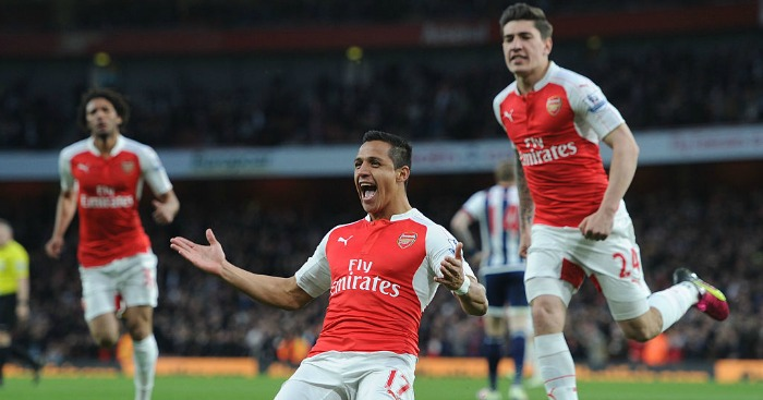 Alexis Sanchez: Scored two goals for the Gunners
