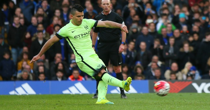 Sergio Aguero: Striker bagged a hat-trick at Chelsea