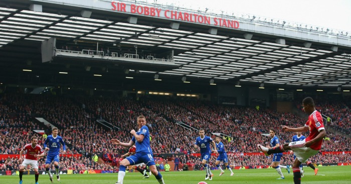 Sir Bobby Charlton Stand: Unveiled against Everton