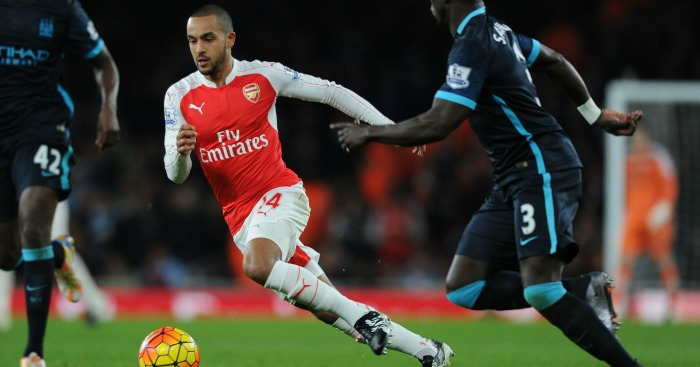 Theo Walcott: Arsenal forward linked with Manchester City