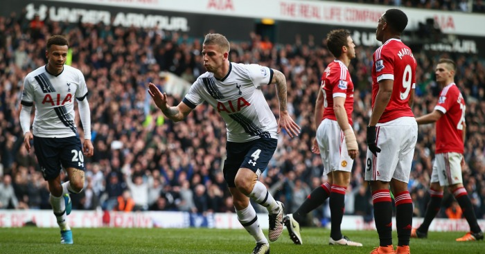 Toby Alderweireld: Defender bagged second goal