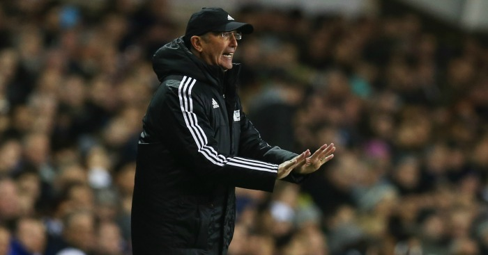 Tony Pulis: Happy with West Brom's display