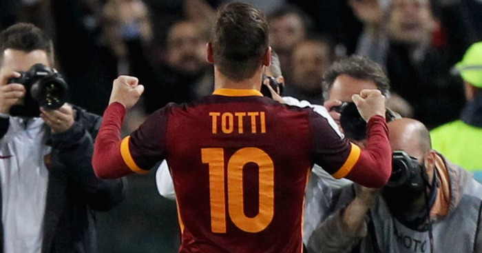 Totti wins it for Roma