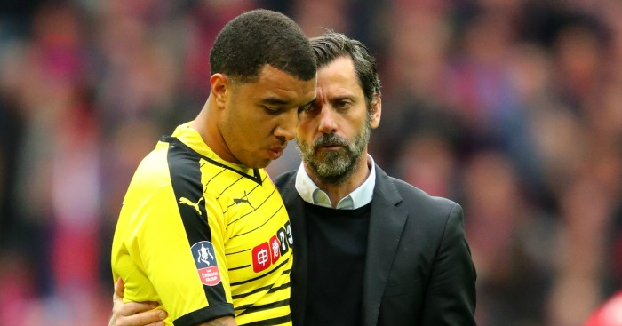 Quique Sanchez Flores: Consoles Troy Deeney after Watford's defeat