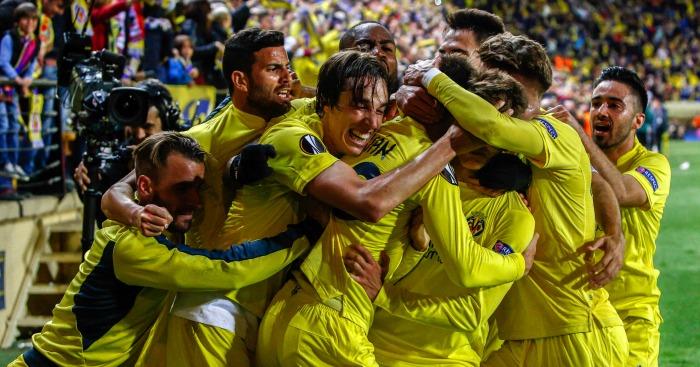 Villarreal: Celebrate their last-gasp winner